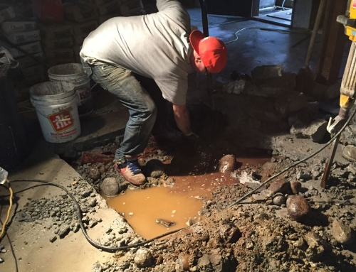 Living in a Reno – Footings